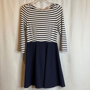Kate Spade striped mini dress